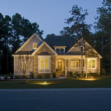 Traditional Exterior by S&W Home Builders