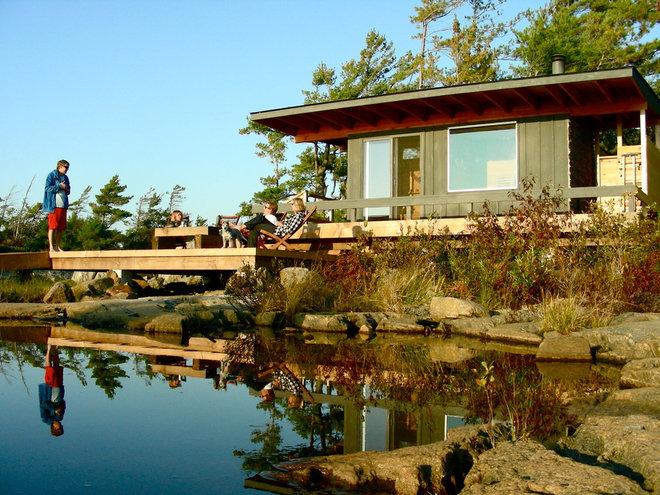 Contemporary Exterior by Owen Landscape Architect