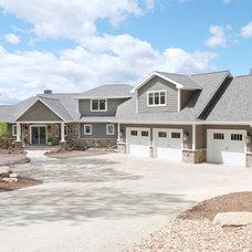 Traditional Exterior by Van's Lumber & Custom Builders, Inc.