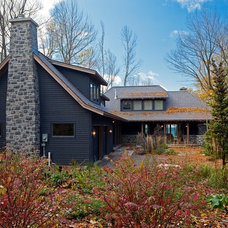 Rustic Exterior by Peter A. Sellar - Architectural Photographer