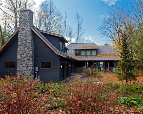 Black Siding Home Design Ideas Pictures Remodel And Decor