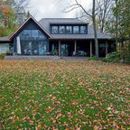 Summer Home Rustic Exterior Toronto By Peter A