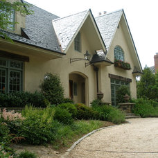 Traditional Exterior by Wheat's Landscape