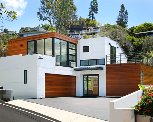 Modern Exterior Home Design Ideas, Remodels & Photos