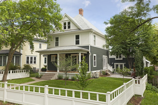 Traditional Exterior by Strand Design