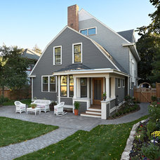 Traditional Exterior by David Heide Design Studio