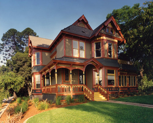 Folk Victorian Exterior Design Ideas Remodels Photos