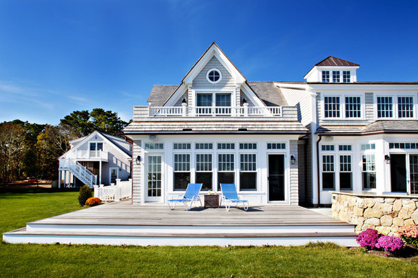 Beach Style Exterior by Concept Building