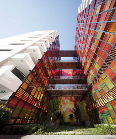 Contemporary Exterior by Woods Bagot Australia
