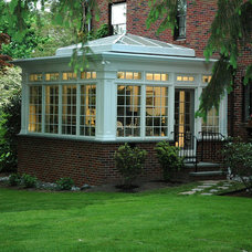 Traditional Sunroom by Hebert Design Build