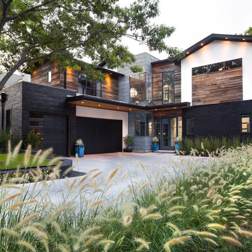 Best Industrial Exterior Home Design Ideas & Remodel