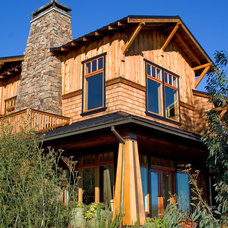 Craftsman Exterior by BC&J Architecture