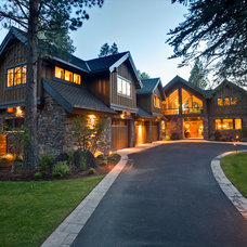 Traditional Exterior by Scott Gilbride/Architect Inc.