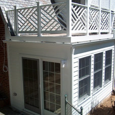 Traditional Exterior by Houseworks Unlimited, Inc.