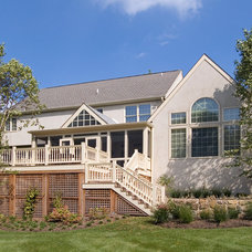 Traditional Exterior by Gardner/Fox Associates, Inc