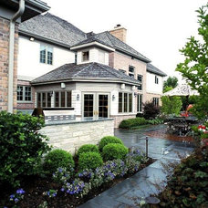 Traditional Exterior by Detailed Builders Inc.