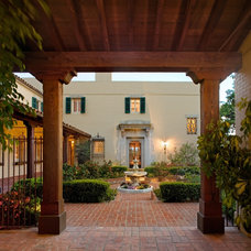 Mediterranean Exterior by Sanctuary Architects