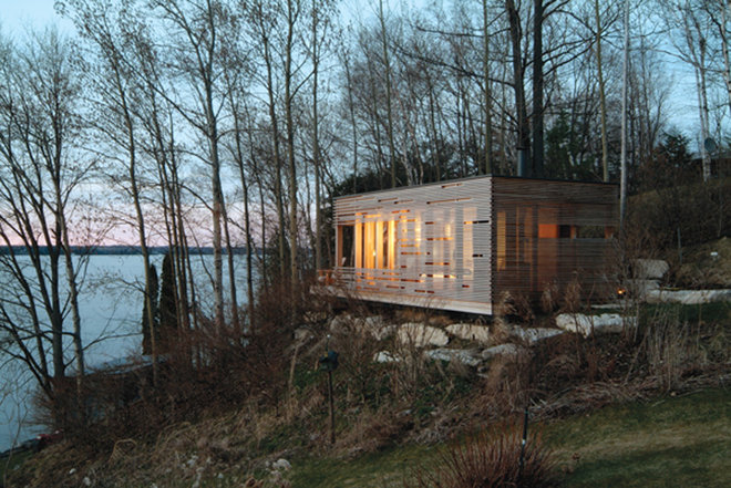 Contemporary Exterior by Taylor Smyth Architects