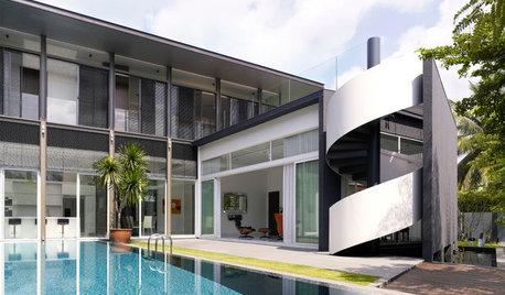 30 Singaporean Staircases to Lift Your Design Spirits