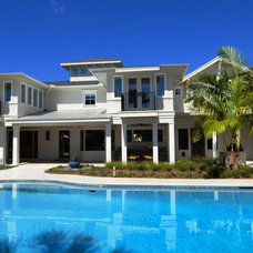 Tropical Exterior by Sunset Properties of Tampa Bay