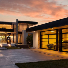 Contemporary Exterior by McClean Design