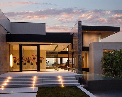 Modern asian exterior houzz for Modern asian house exterior designs