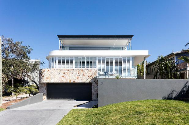 Contemporary Exterior by Aboda Design Group