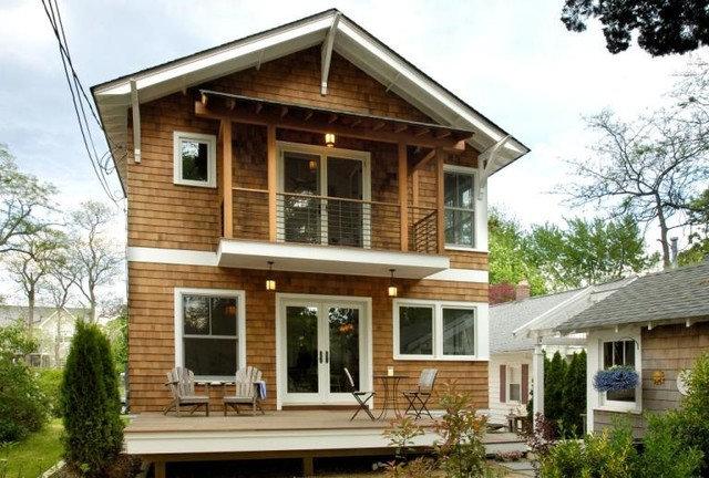 Craftsman Exterior by Richard Bubnowski Design LLC