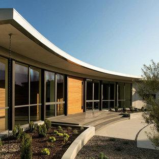 Example of a trendy exterior home design in Santa Barbara