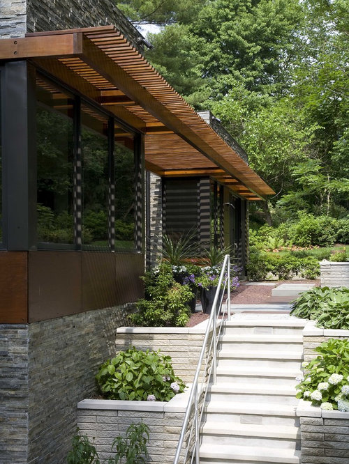 Wood Awning Home Design Ideas Pictures Remodel And Decor