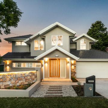Sutherland Hampton Style Home