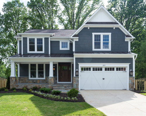 Blue Shake Siding Home Design Ideas Pictures Remodel And