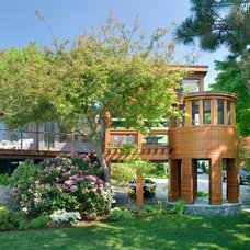 Contemporary Exterior by Foley Fiore Architecture