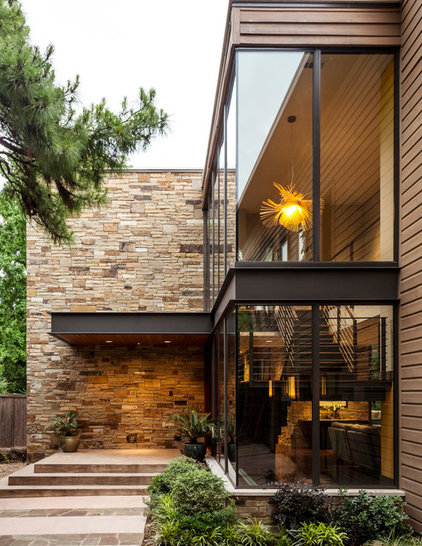 Contemporary Exterior by Stocker Hoesterey Montenegro