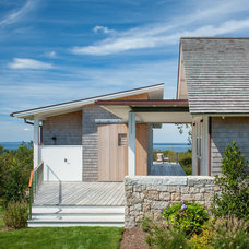 Beach Style Exterior by Estes/Twombly Architects, Inc.