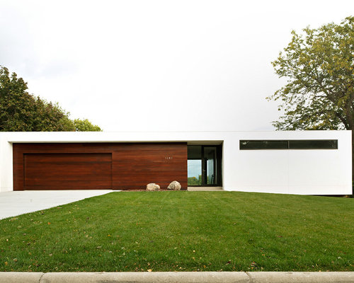 Modern minimalist house design houzz for Modern minimalist house plans