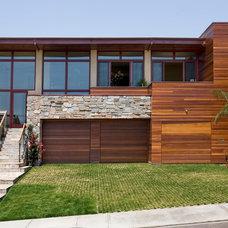 Contemporary Exterior by James Glover Residential & Interior Design