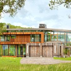 Contemporary Exterior by Montana Reclaimed Lumber Co.