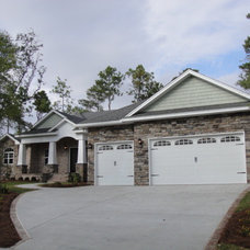 Traditional Exterior by Tidwell Homes