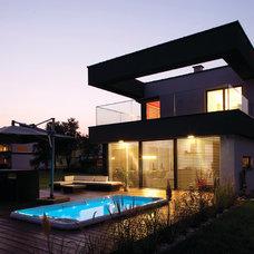 Contemporary Exterior by Home Escapes
