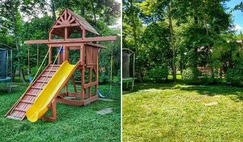 Swing-Set Removal | Rye, New York