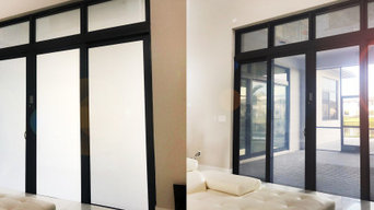 Switchable Privacy Smart Glass Residential Entrance Doors