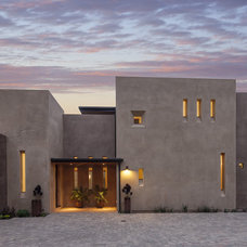 Contemporary Exterior by Allen Construction