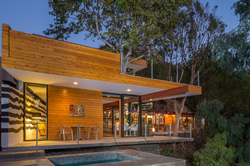 Contemporary Exterior by ANX / Aaron Neubert Architects