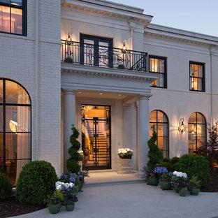 Idéer för ett klassiskt hus, med tegel
