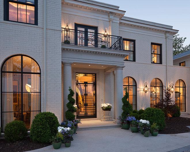 Traditional Exterior by Renaissance Development Corporation