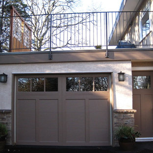 Example of a classic exterior home design in Vancouver