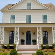 Traditional Exterior by T-Olive Properties