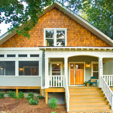 Traditional Exterior by Brookstone Builders