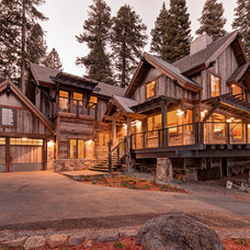 Rustic Exterior by Structerra, Inc.